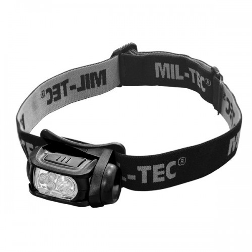 LINTERNA FRONTAL MILTEC 3 LED