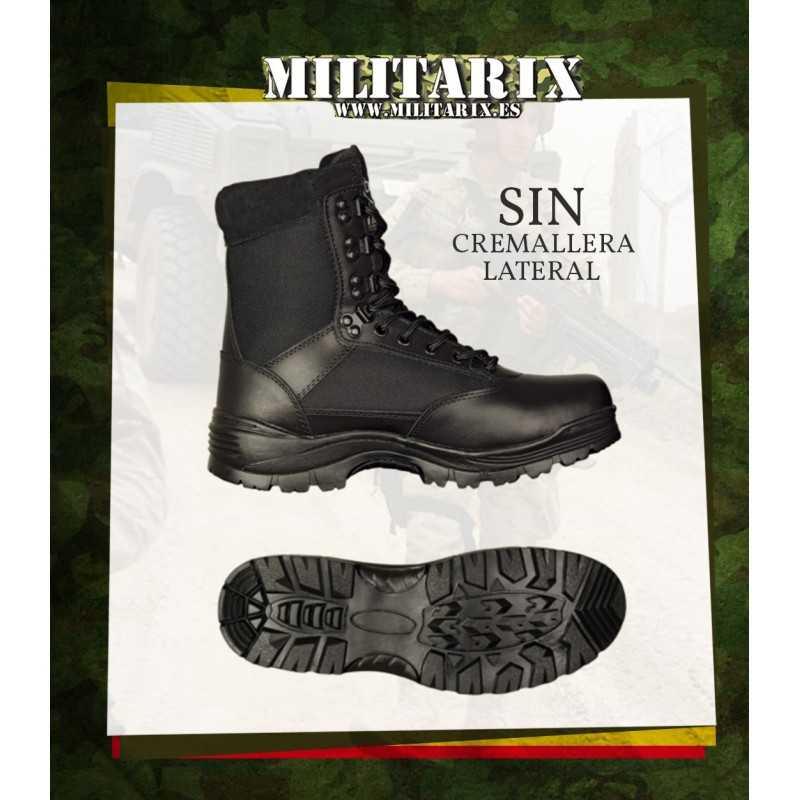 diseño novedoso Para estrenar precio moderado BOTAS TACTICAS BARBARIC NEGRA MILITAR PROFESIONAL POLICIAL