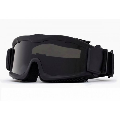 GAFAS DE PROTECCION TACTICAL CON LENTES INTERCAMBIABLES Y FUNDA