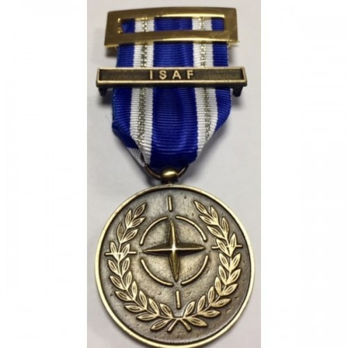 MEDALLA OTAN ISAF AFGANISTAN