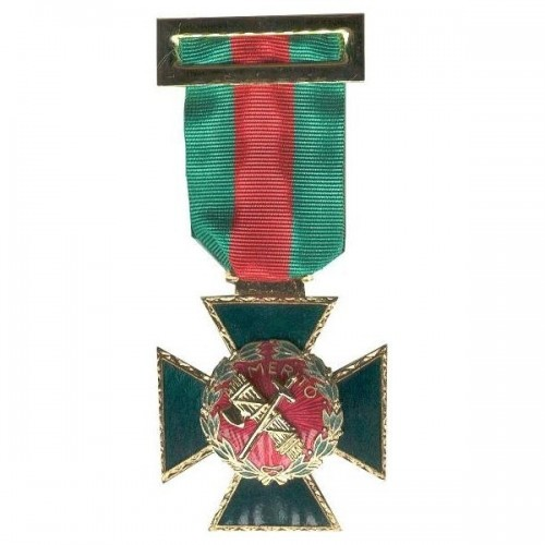 MEDALLA AL MERITO GUARDIA CIVIL DISTINTIVO ROJO