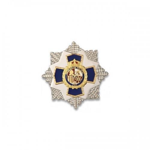 PLACA A LA DEDICACION POLICIAL XXXV AÑOS