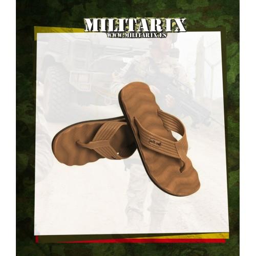 SANDALIAS MILTEC COYOTE CHANCLAS