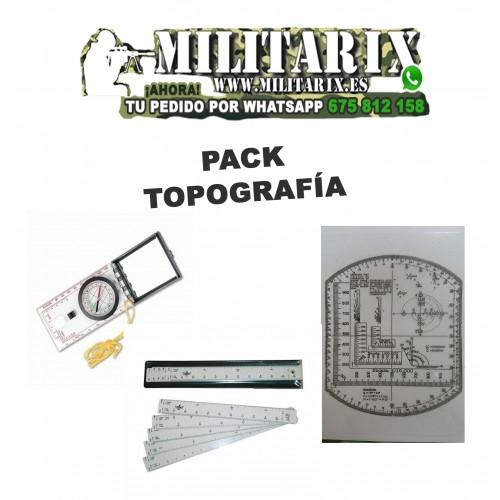 PACK TOPOGRAFICO MILITARIX