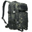 MOCHILA TACTICA MILTEC LASER MULTICAM BLACK SMALL