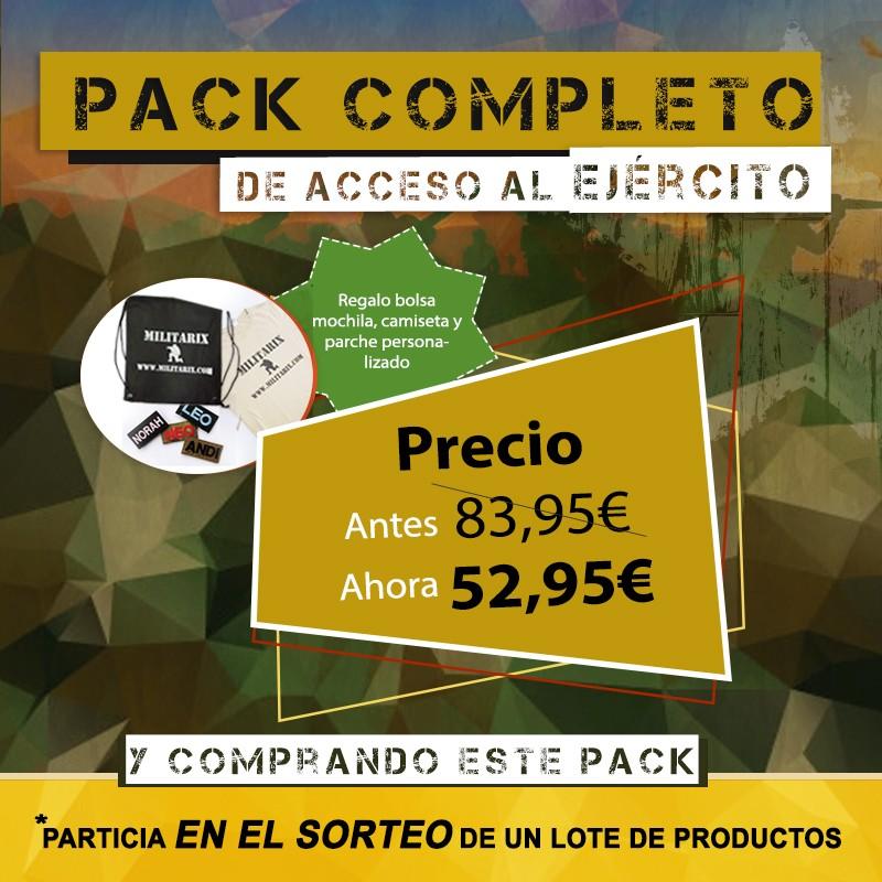 PACK COMPLETO DE ACCESO AL EJÉRCITO