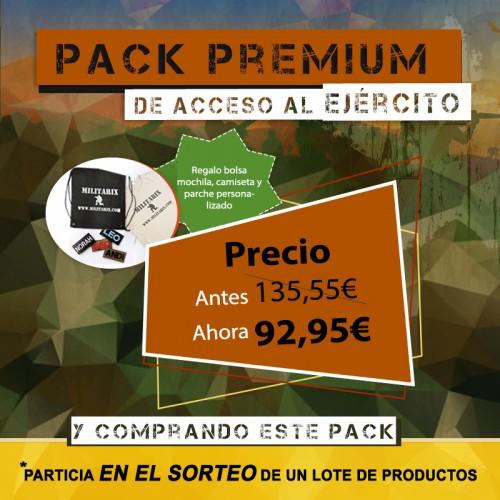 PACK PREMIUM DE ACCESO AL EJÉRCITO (33 PRODUCTOS).Ver descripción completa más abajo.