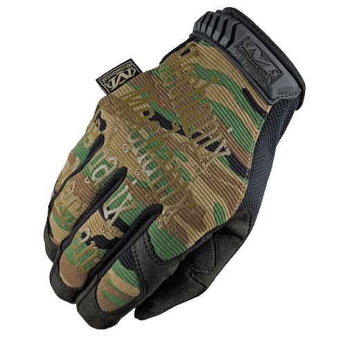 GUANTES TACTICOS MECHANIX THE ORIGINAL CAMO (BOSCOSO) (WOODLAND)
